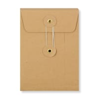 C6 MANILLA GUSSET STRING & WASHER ENVELOPES 180GSM