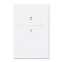 C6 WHITE GUSSET STRING & WASHER ENVELOPES 180GSM