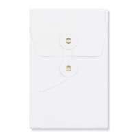 C6 WHITE GUSSET STRING & WASHER ENVELOPES 180GSM