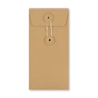 DL STRING & WASHER MANILLA GUSSET ENVELOPES