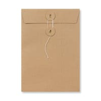 C5 MANILLA STRING & WASHER ENVELOPES 180GSM