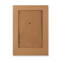 C5 MANILLA WINDOW GUSSET STRING & WASHER ENVELOPES 180GSM