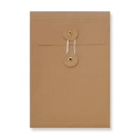 C5 MANILLA GUSSET STRING & WASHER ENVELOPES 180GSM