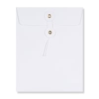 C5 WHITE STRING & WASHER ENVELOPES 180GSM