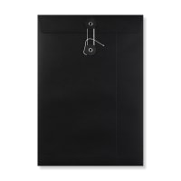 C4 BLACK STRING & WASHER ENVELOPES 180GSM