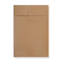 C4 MANILLA GUSSET STRING & WASHER ENVELOPES 180GSM