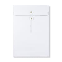 C4 WHITE GUSSET STRING & WASHER ENVELOPES 180GSM