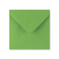 FERN GREEN 130mm SQUARE ENVELOPES
