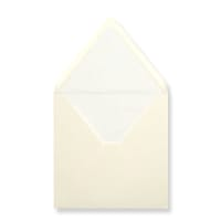 160 x 160mm Ivory Envelopes Lined With White Paper