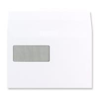 C5 WHITE COMMUNIQUE WINDOW ENVELOPES