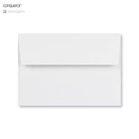 C6 BRILLIANT WHITE CONQUEROR LAID ENVELOPES