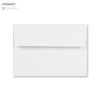 C6 BRILLIANT WHITE CONQEROR WOVE ENVELOPES