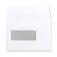 C6 WHITE COMMUNIQUE WINDOW ENVELOPES