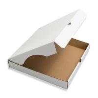 9 INCH WHITE PIZZA BOX