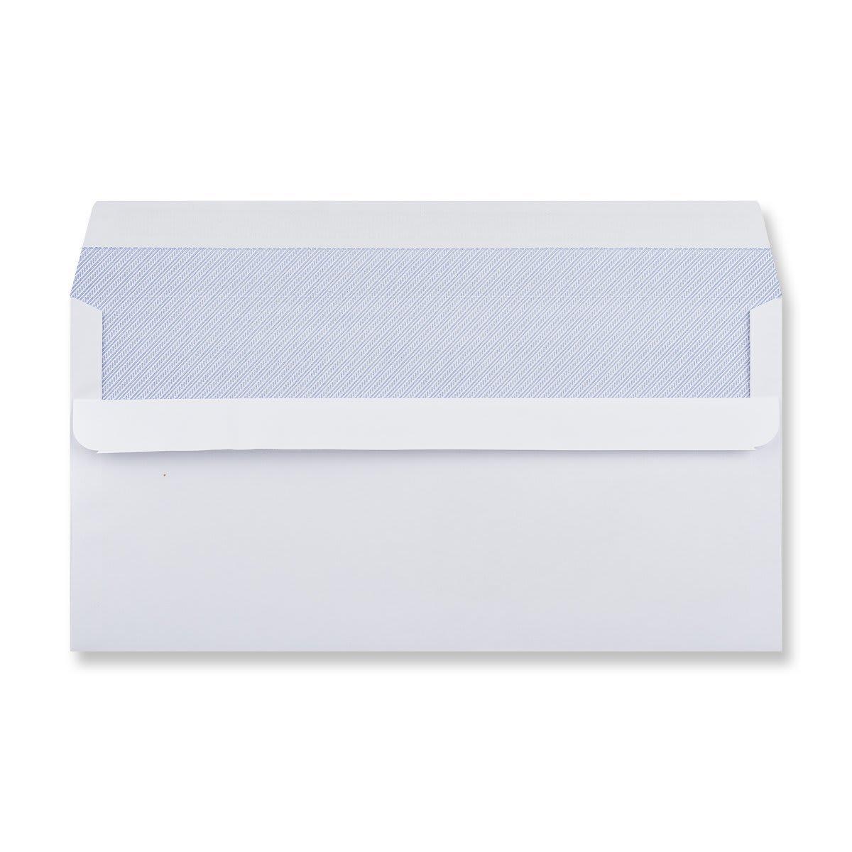 DL WHITE SELF SEAL WALLET WINDOW ENVELOPES 90GSM