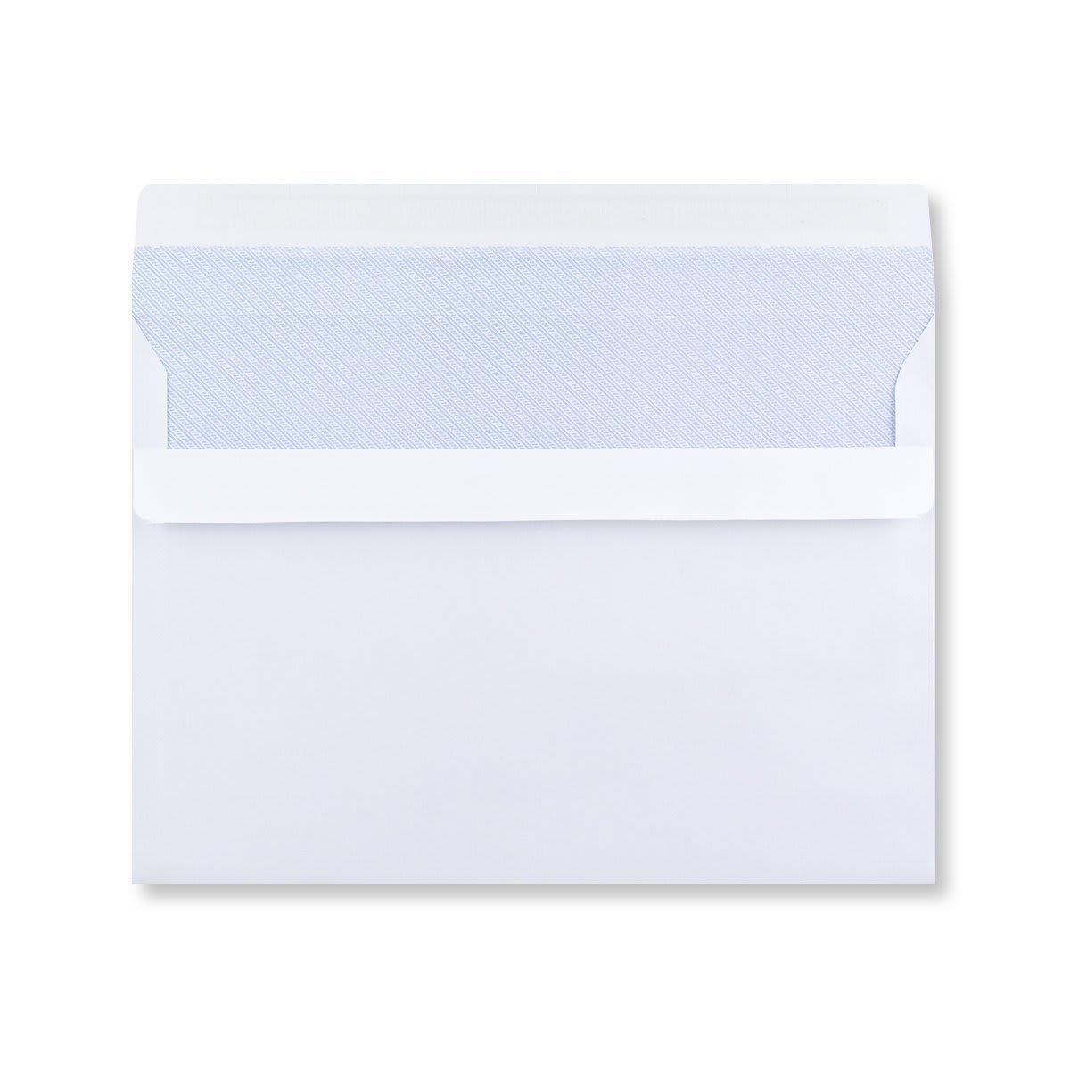 C5 WHITE SELF SEAL WINDOW ENVELOPES