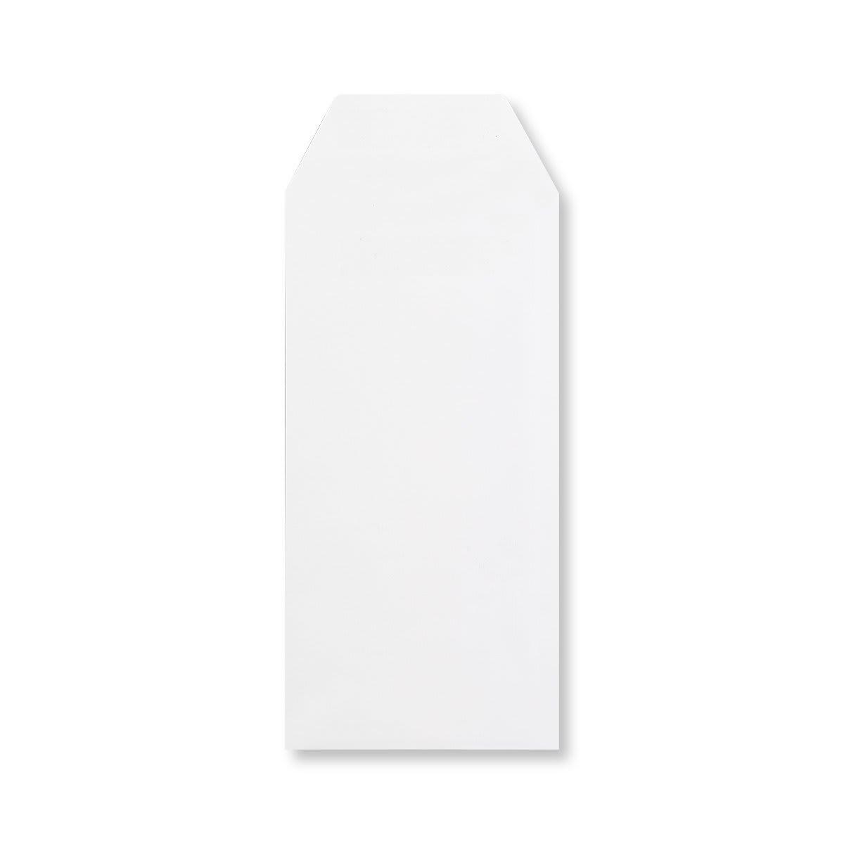 DL WHITE POCKET ENVELOPES 90GSM