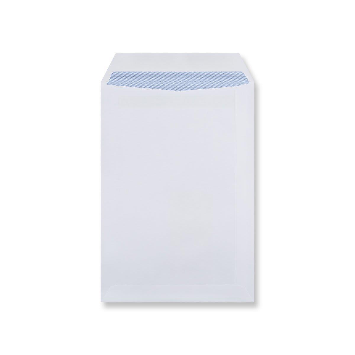 C5 WHITE SELF SEAL POCKET WINDOW ENVELOPES 90GSM