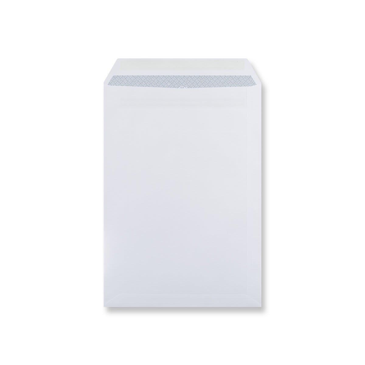 C4 WHITE SELF SEAL POCKET WINDOW ENVELOPES 100GSM
