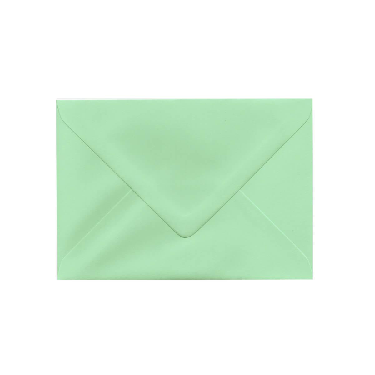 C6 PALE GREEN ENVELOPES