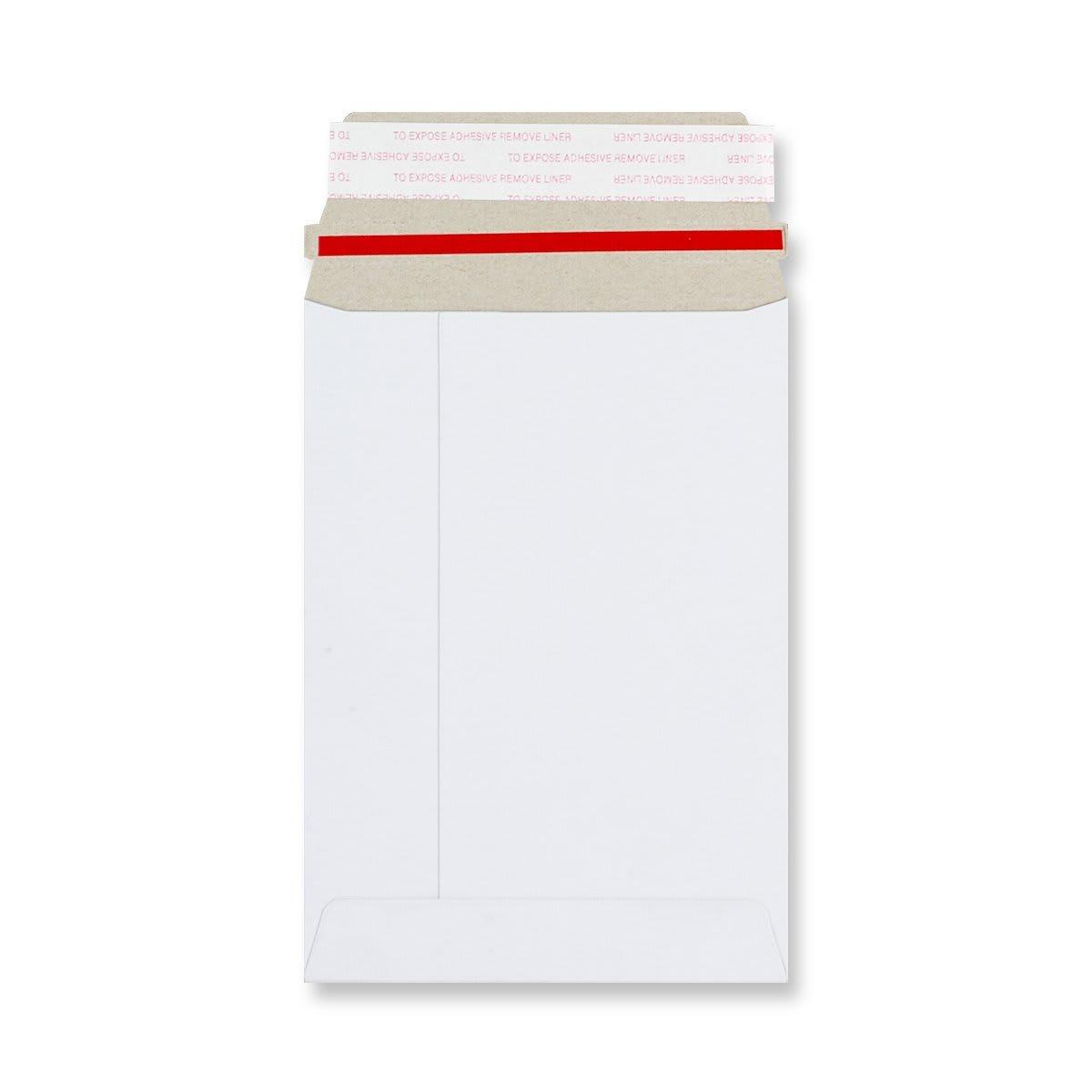 C6 WHITE ALL-BOARD ENVELOPES 350GSM