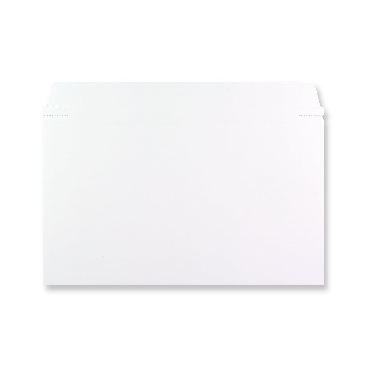 175 x 305mm WHITE ALL BOARD ENVELOPES