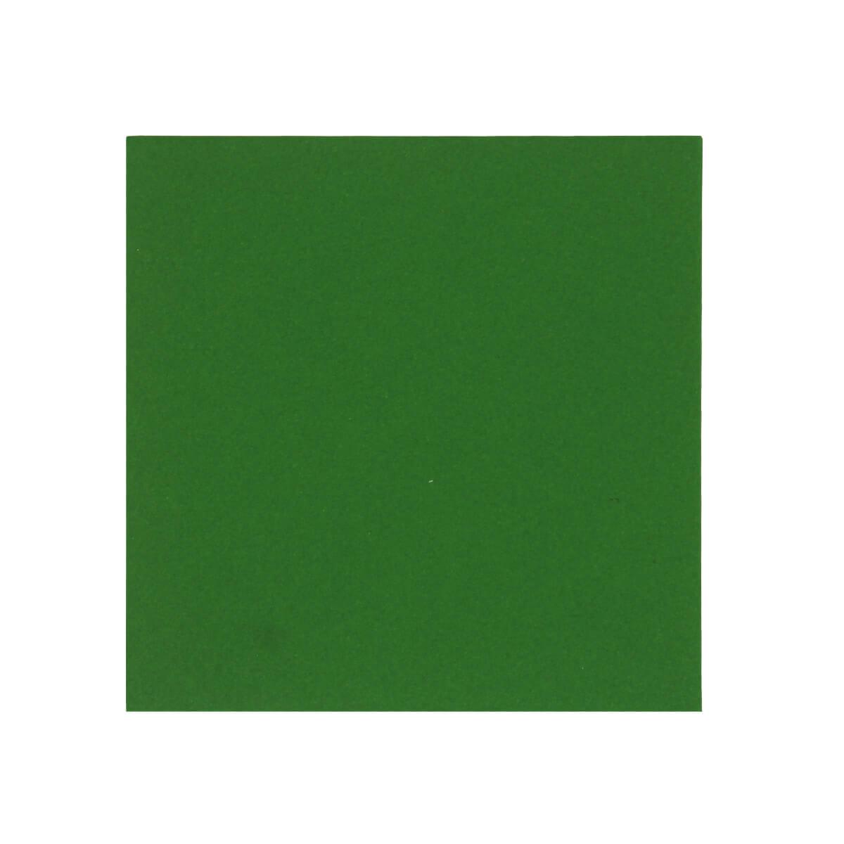 XMAS GREEN 100mm SQUARE ENVELOPES