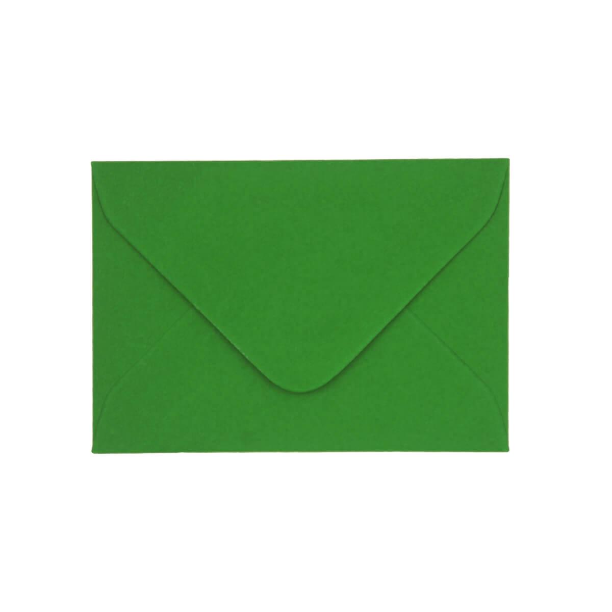 XMAS GREEN 70 x 100 mm GIFT TAG ENVELOPE (i2)