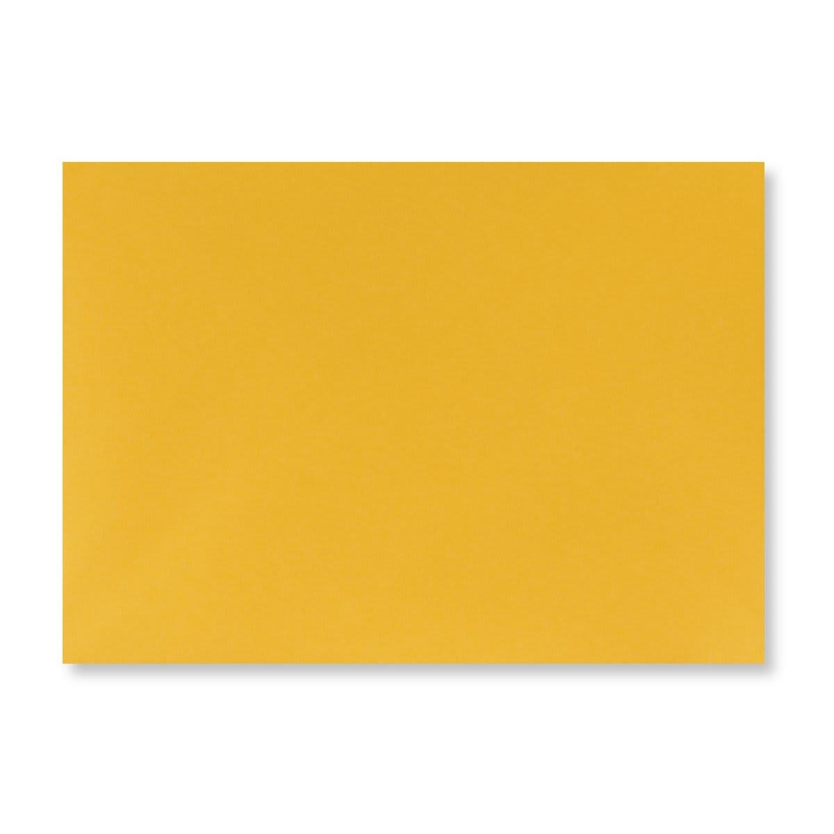 GOLDEN YELLOW 125 x 175mm ENVELOPES