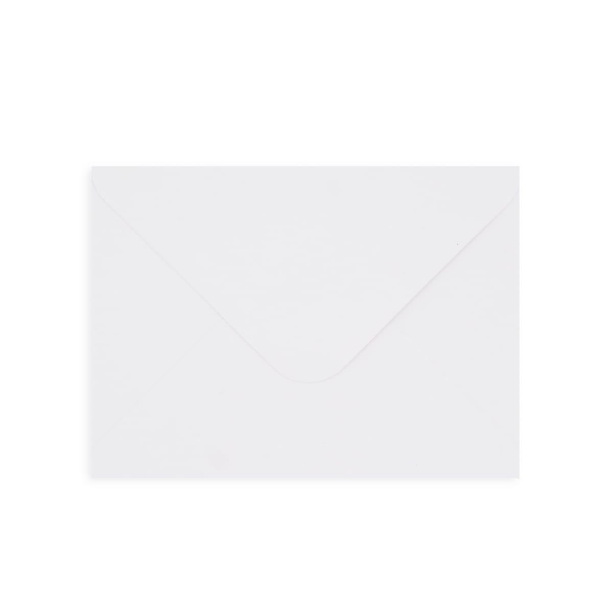 WHITE 130GSM 125 x 175 mm ENVELOPES (i6)