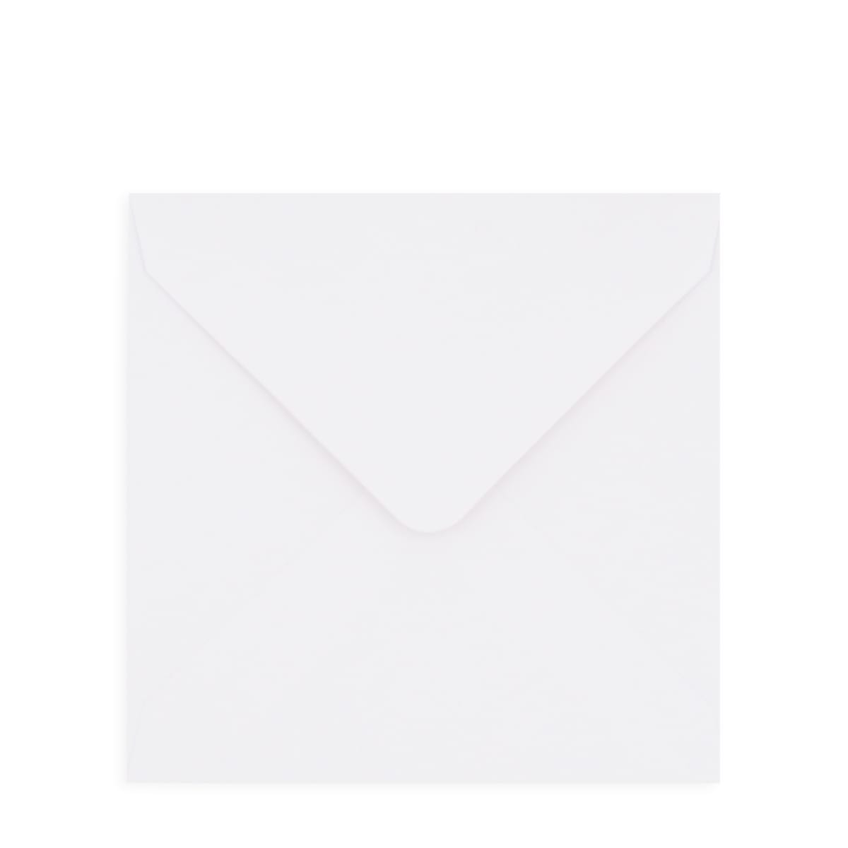 WHITE 130mm SQUARE ENVELOPES 130GSM