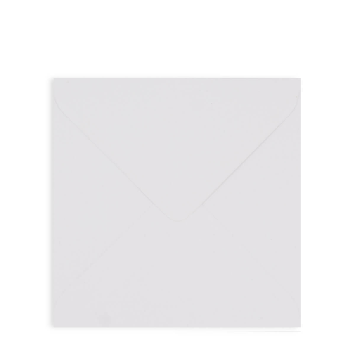 WHITE 155mm SQUARE ENVELOPE 130GSM
