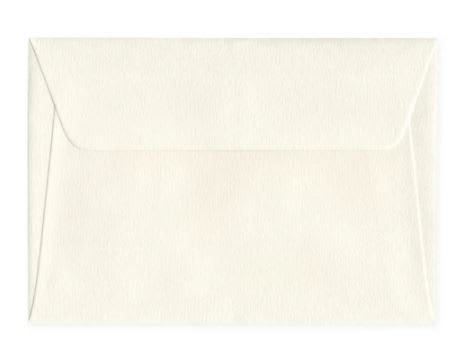 C6 Accent Antique Magnolia 135gsm Peel & Seal Envelopes