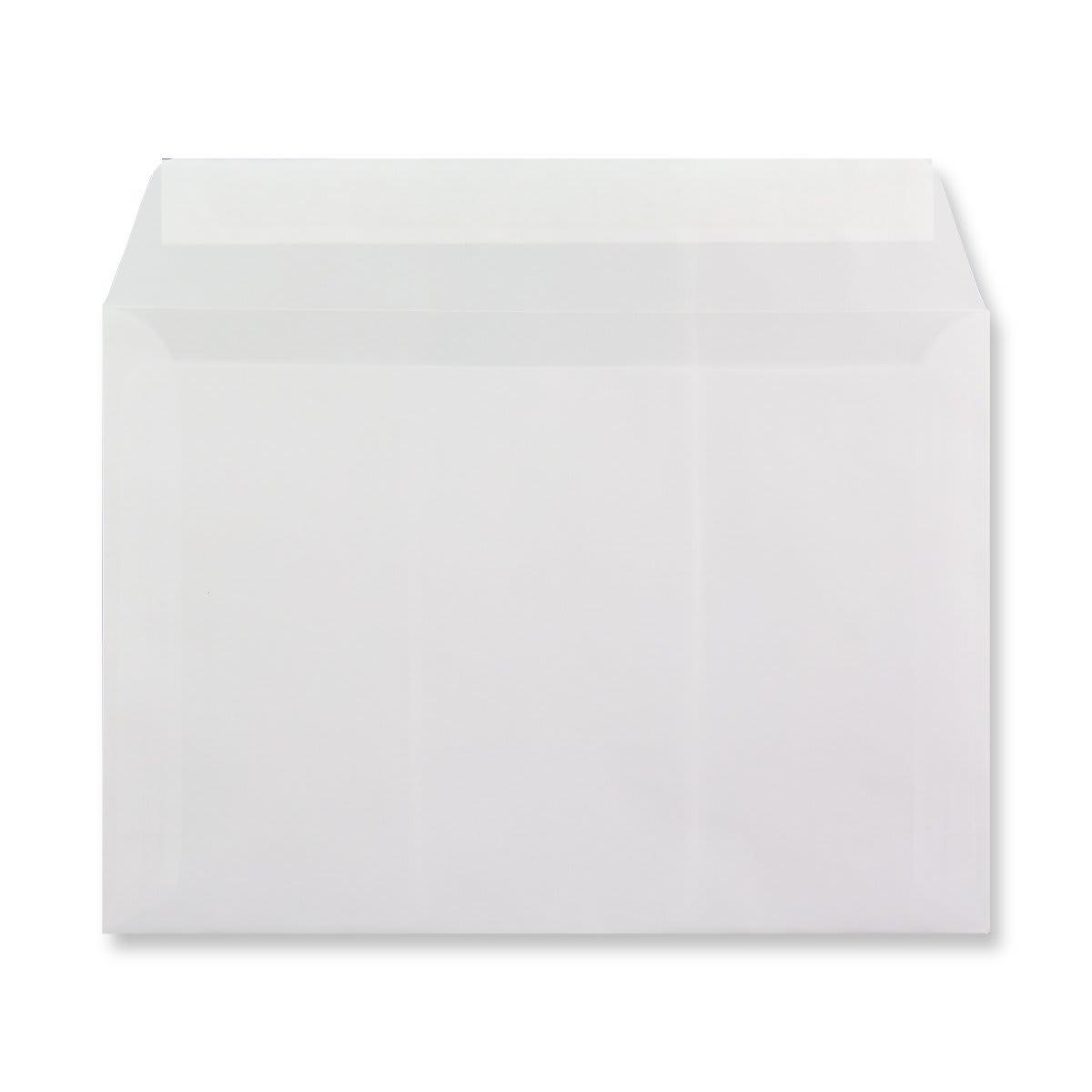 C5 WHITE TRANSLUCENT ENVELOPES