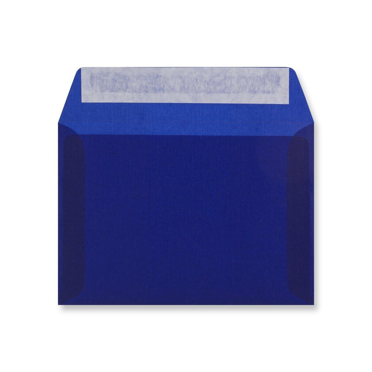 C6 DARK BLUE TRANSLUCENT ENVELOPES