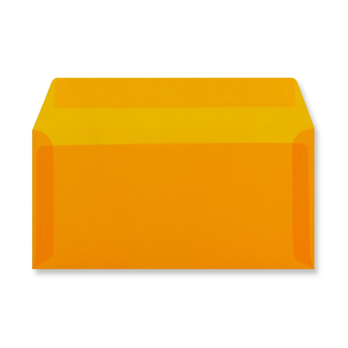 DL ORANGE TRANSLUCENT ENVELOPES