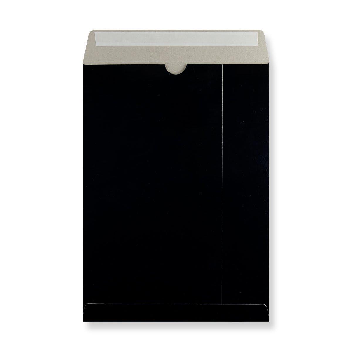 C4 BLACK ALL BOARD ENVELOPES