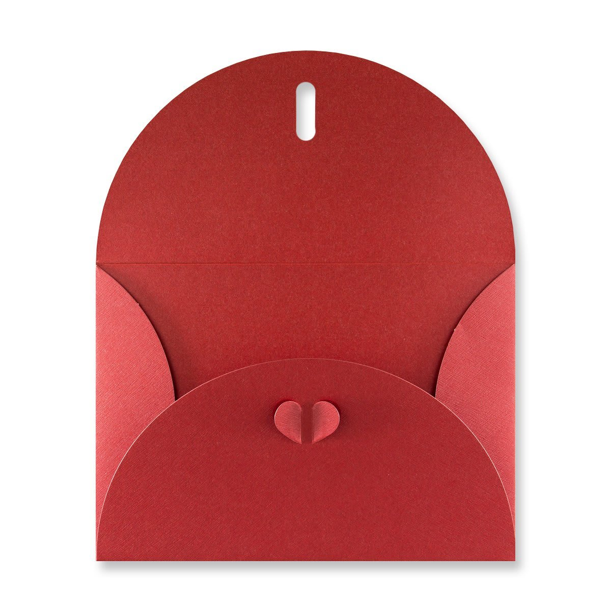 C5 CARDINAL RED BUTTERFLY ENVELOPES