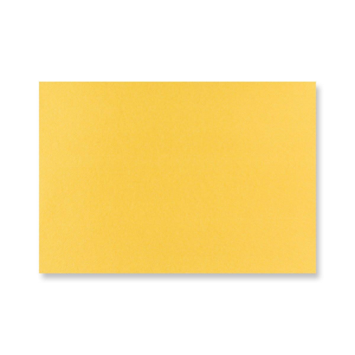 C5 GOLDEN YELLOW BUTTERFLY ENVELOPES