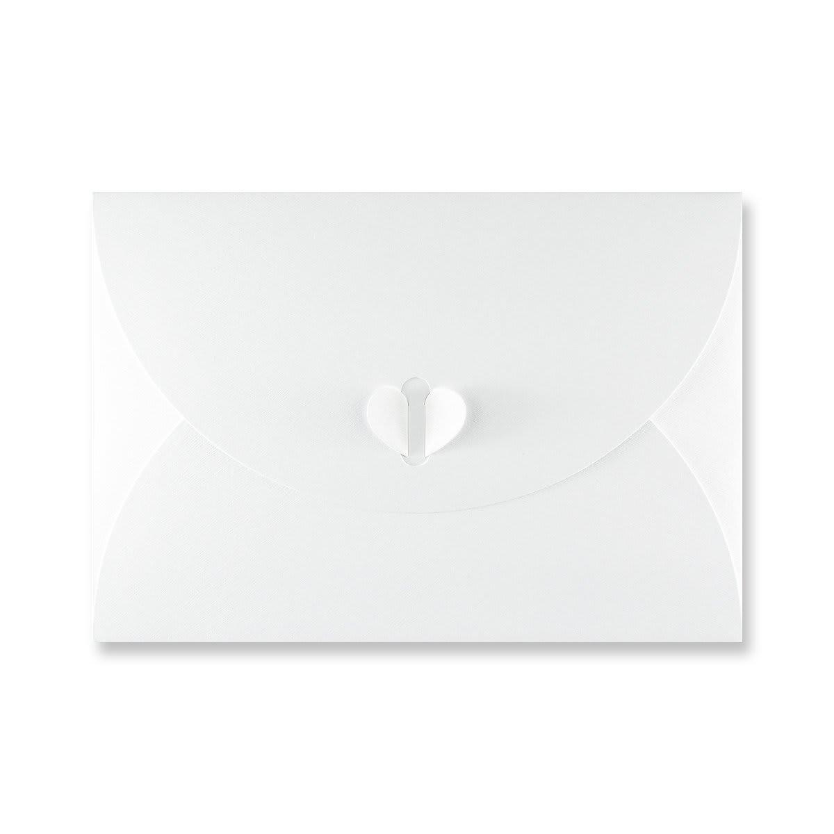 C5 WHITE BUTTERFLY ENVELOPES