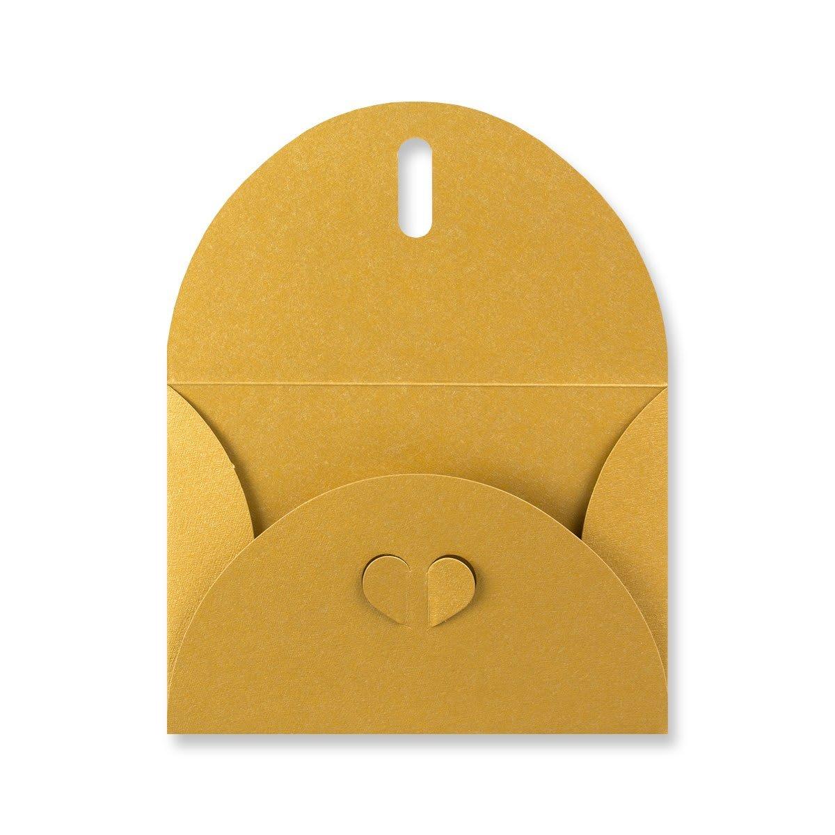 C6 GOLD BUTTERFLY ENVELOPES
