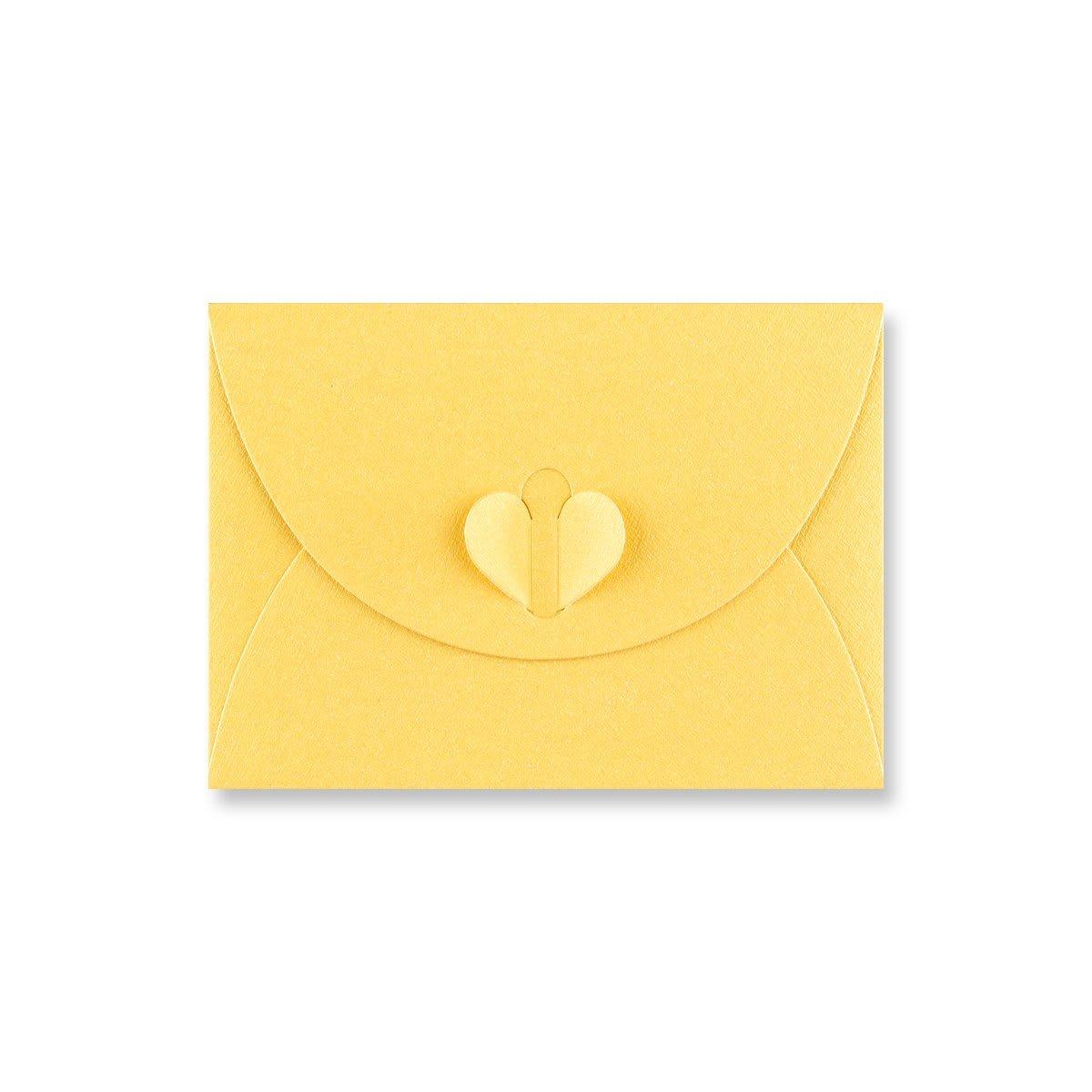 C7 GOLDEN YELLOW BUTTERFLY ENVELOPES