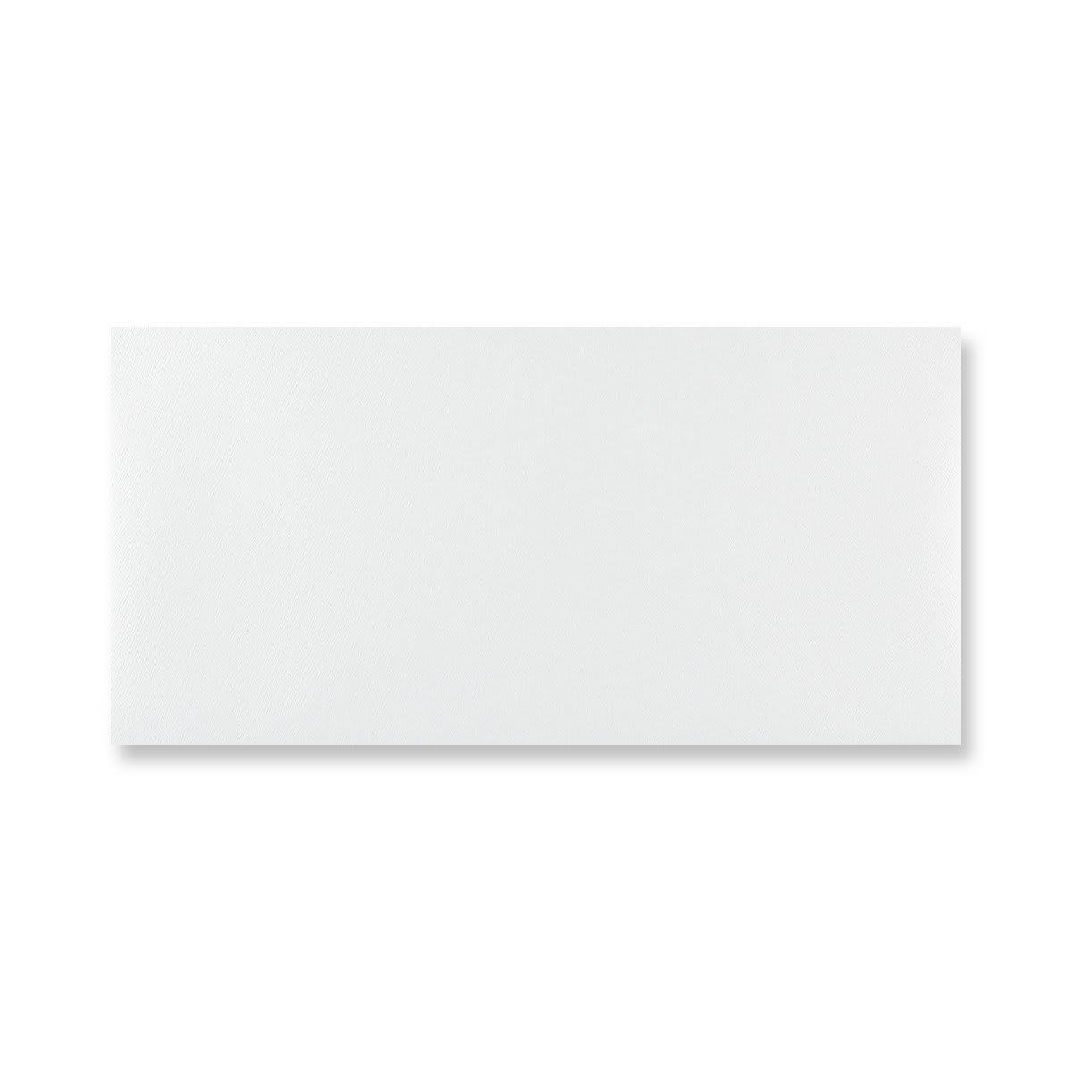 DL WHITE BUTTERFLY ENVELOPES