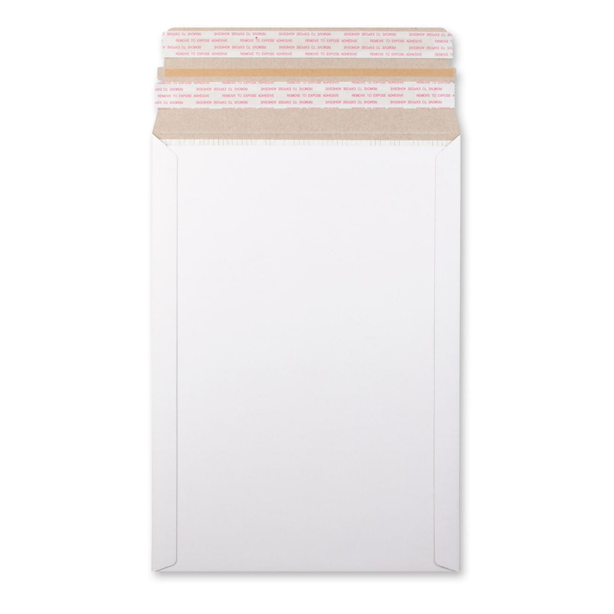 WHITE FLUTED 334x234mm ALL BOARD ENVELOPES