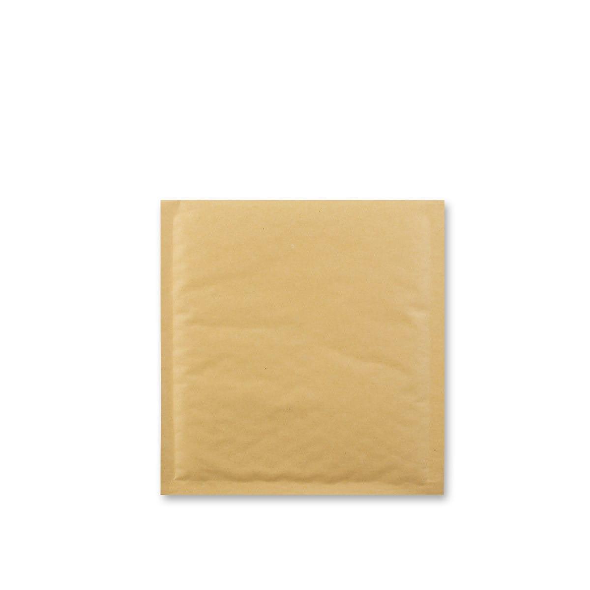 180 x 165mm MANILLA BUBBLE BAG ENVELOPES