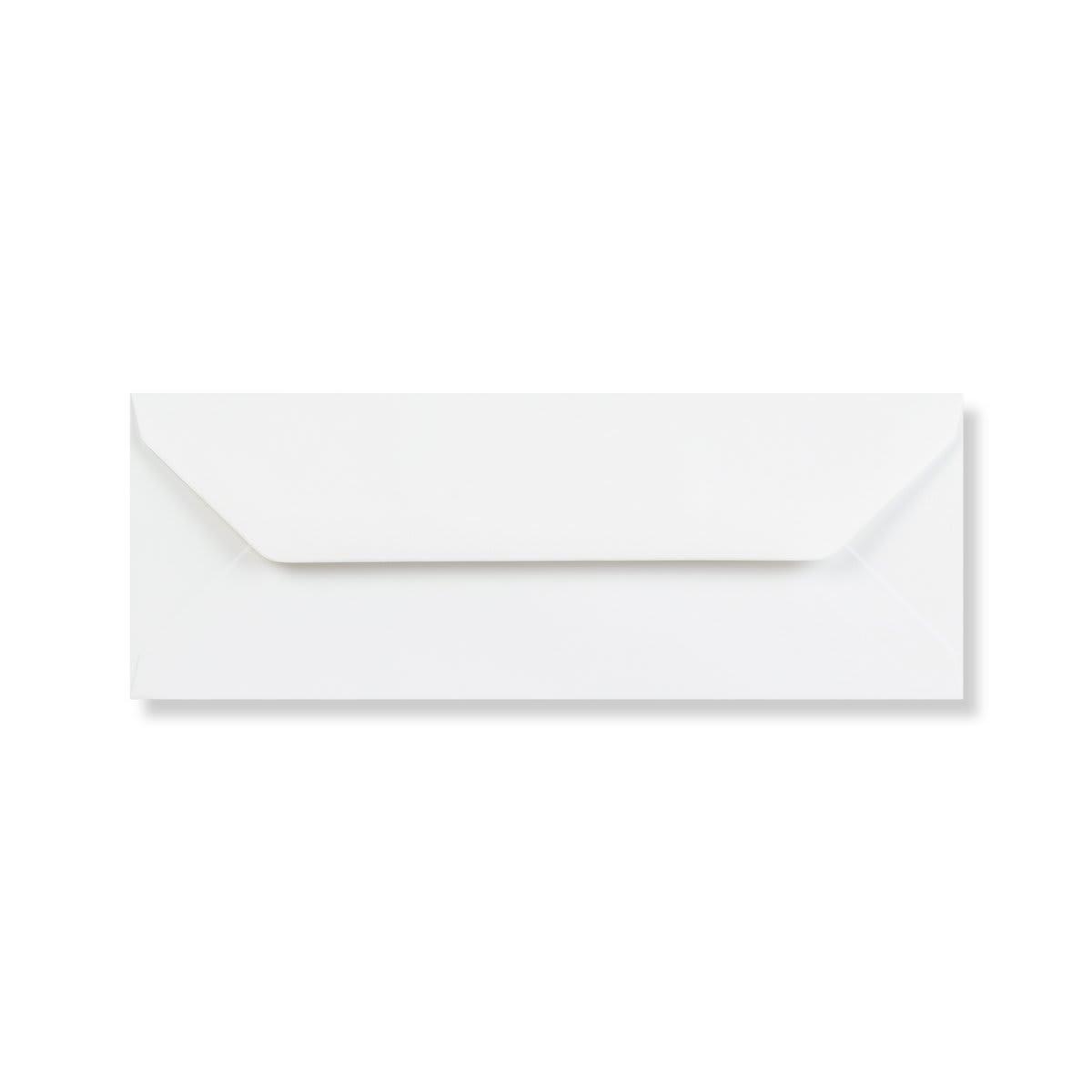 WHITE 80 x 215 mm ENVELOPES (i3)