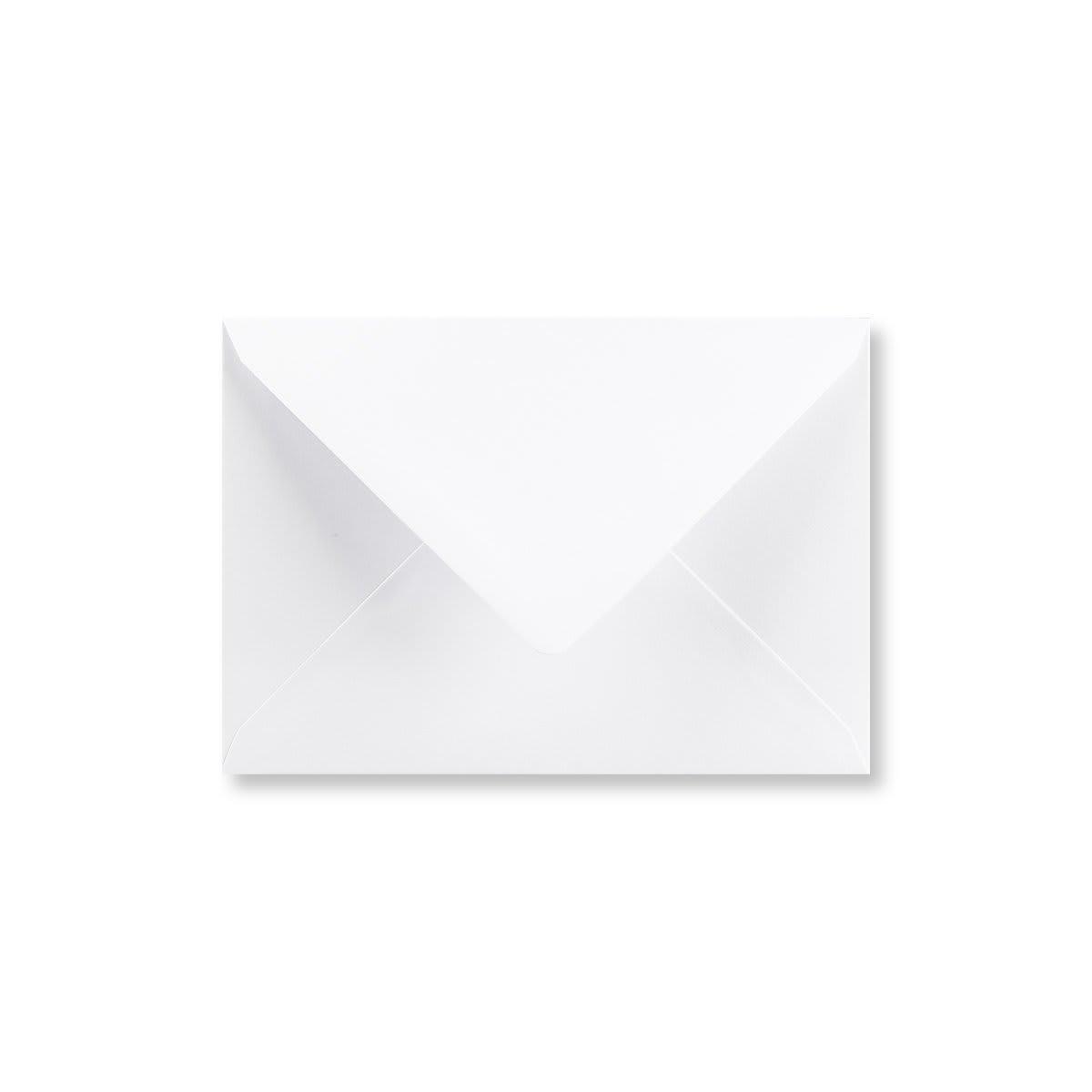 C6 WHITE ENVELOPES 90GSM