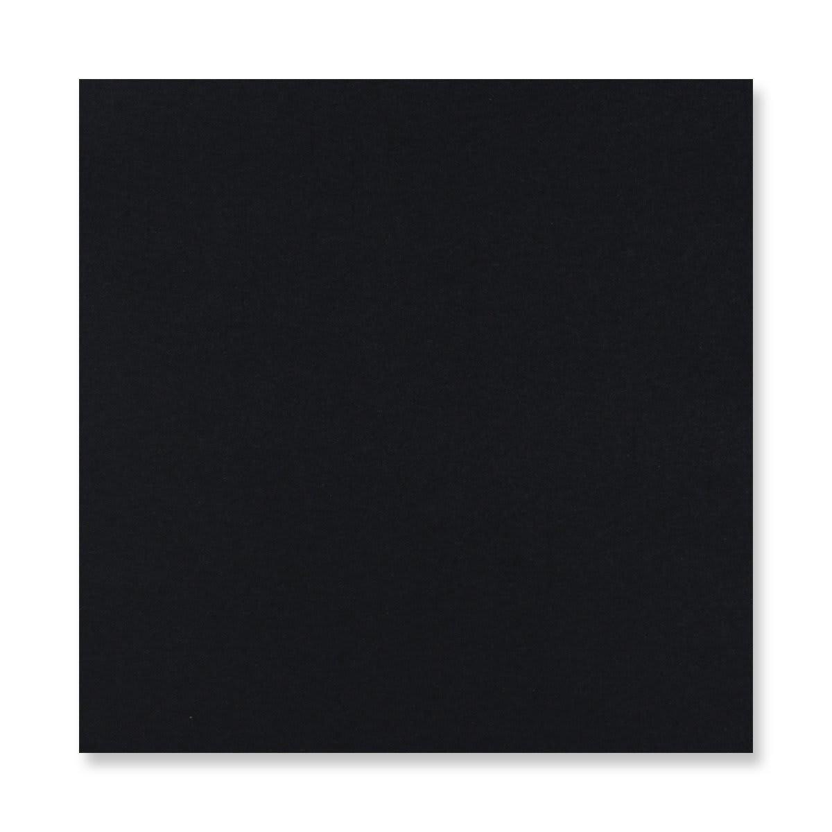 155 x 155MM BLACK V-FLAP PEEL AND SEAL ENVELOPES