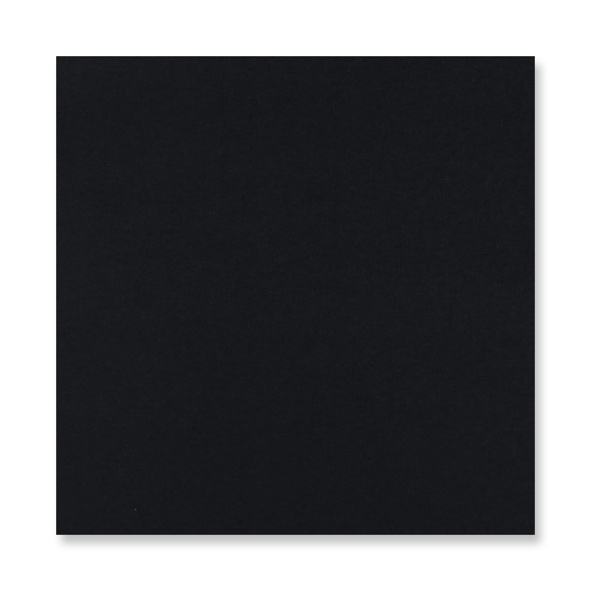 170 x 170MM BLACK V-FLAP PEEL AND SEAL ENVELOPES