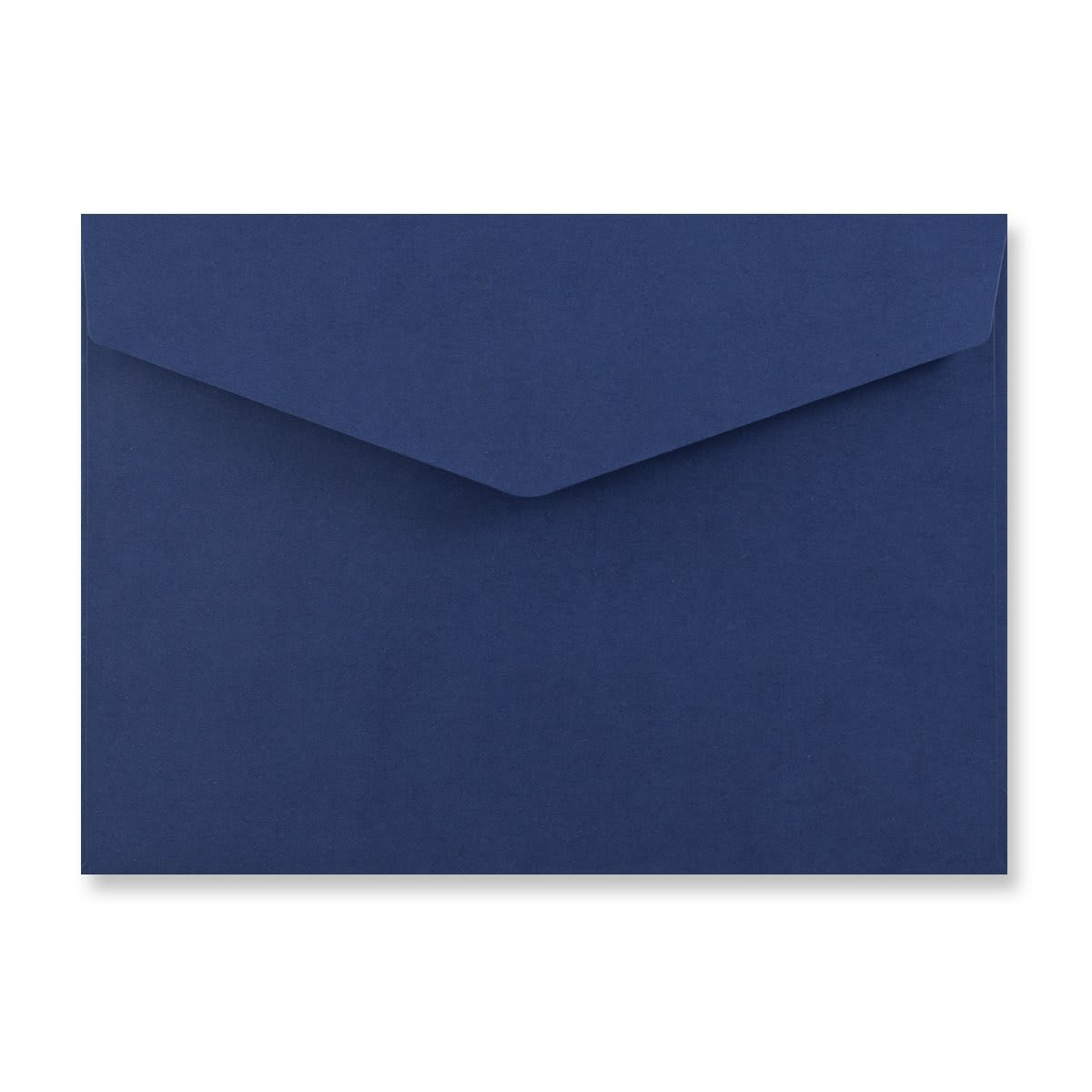 C5 NAVY BLUE V-FLAP PEEL AND SEAL ENVELOPES